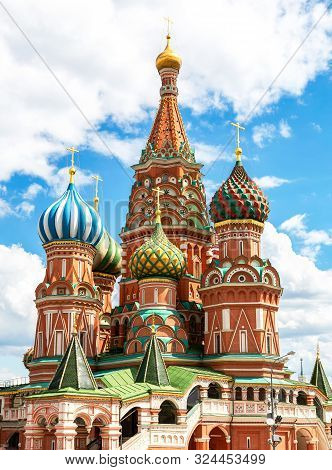 Saint Basil's (pokrovsky) Cathedral Moscow, Russia