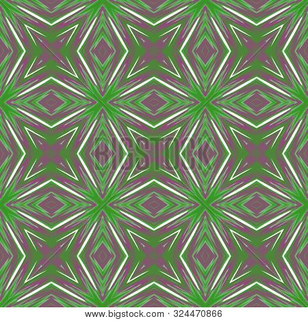 Seamless Background Pattern With A Variety Of Multicolored Lines.