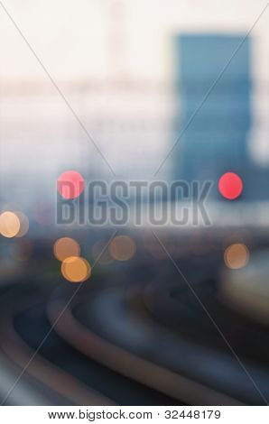 Railway - Soft Focus