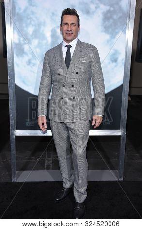 LOS ANGELES - SEP 25:  Jon Hamm arrives for