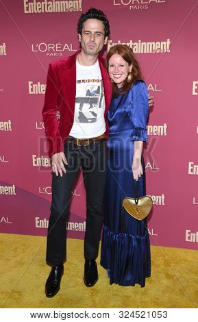 LOS ANGELES - SEP 20:  Luke Kirby arrives for the Entertainment Weekly Pre Emmy Party on September 20, 2019 in West Hollywood, CA