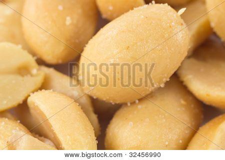 Closeup Peanuts