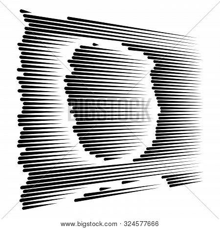Dynamic Dashed, Segmented Lines Pattern. Irregular Stripes. Straight Parallel Streaks, Strips Design