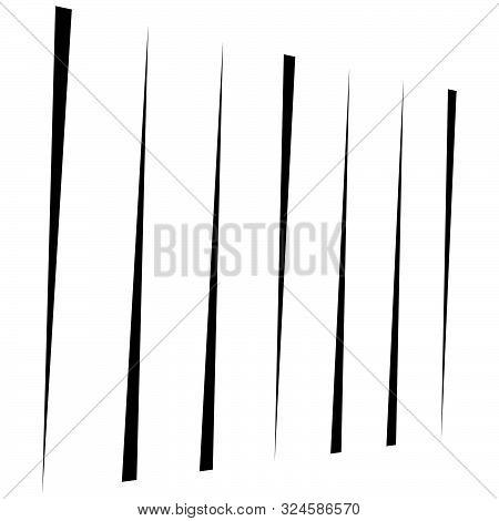 Lines, Stripes Pattern, Background. Vertical Straight, Parallel Streaks, Strips. Irregular Halftone