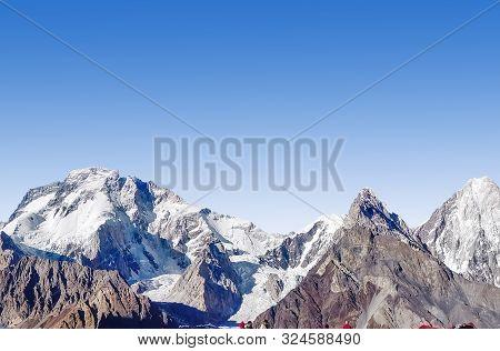 Fascinating View Of The Concordia Peak In The Karakoram Range