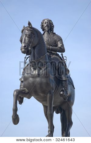 King Charles I statue, Trafalgar Square, London
