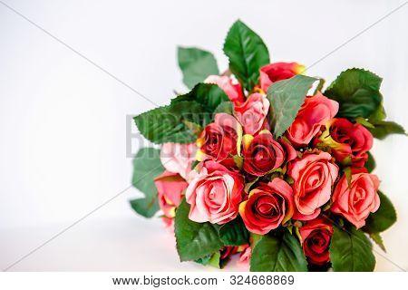 Rose Flower Background. Roses Flower Texture. Lovely Rose. Roses Flower Pattern. Roses Flower Bouque