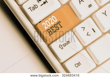 Best Business Computer 2020.Writing Note Showing Image Photo Free Trial Bigstock