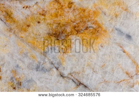 Close Up Of Quartz Stone Texture, Precios Rock.