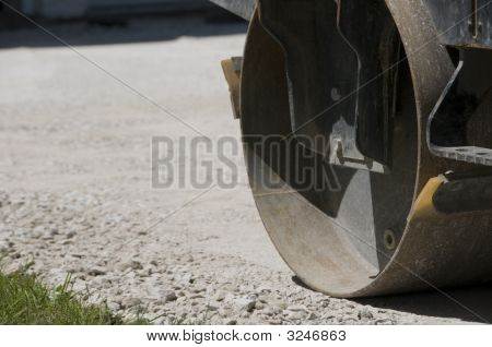 Compacting Gravel