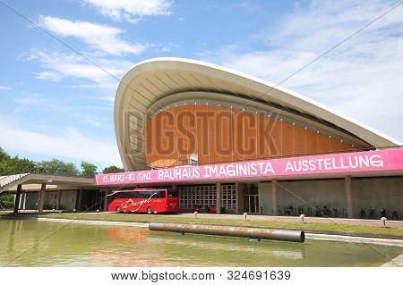 Berlin Germany - June 8, 2019: Haus Der Kulturen Der Welt National Centre For The Presentation And D