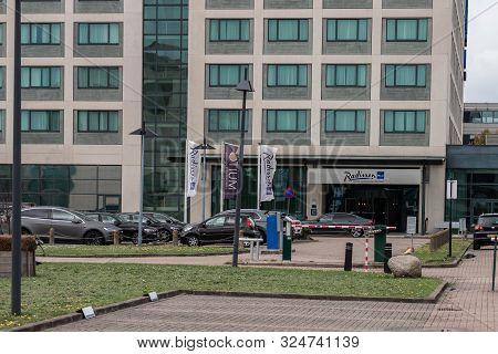 Schiphol-rijk, The Netherlands, 09/27/2019, Radisson Blu Hotel Amsterdam Airport, Schiphol, Corporat
