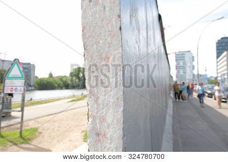 Berlin Wall East Side Gallery In Berlin Germany