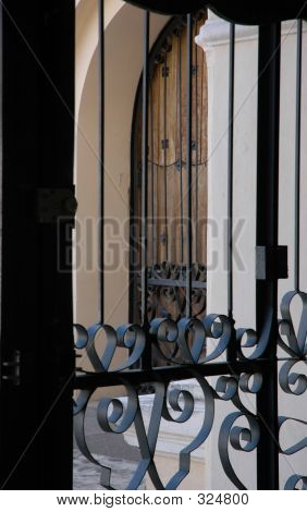 Cathedral Door And Grillwork