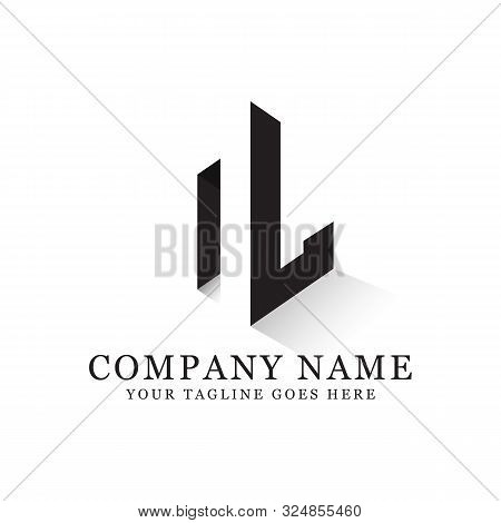 N L Initial Logo Inspiration, Clean And Clever Logo Designs, Letter N Logo Template