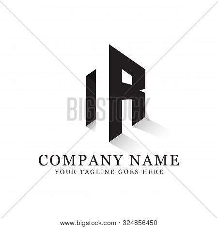 Nr Initial Logo Inspiration, Clean And Clever Logo Designs, Letter N Logo Template
