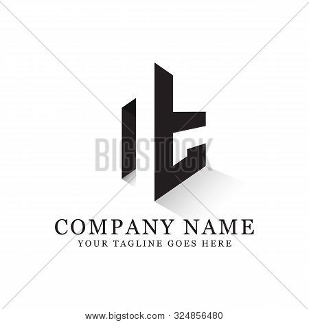 Nt Initial Logo Inspiration, Clean And Clever Logo Designs, Letter N Logo Template