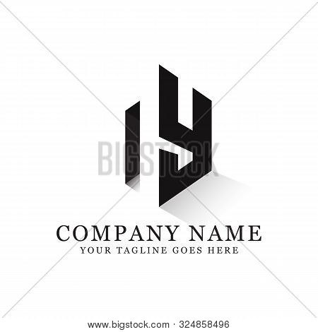 Ny Initial Logo Inspiration, Clean And Clever Logo Designs, Letter N Logo Template
