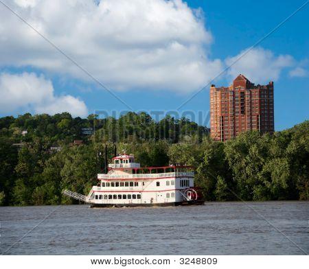 Paddlewheel Riverboat