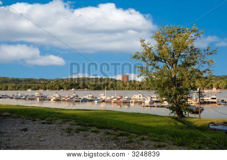 Cincinnati Ohio River Marina