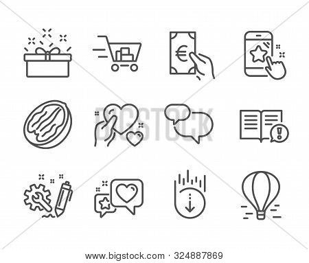 Set Business Icons, Vector & Photo (Free Trial)   Bigstock