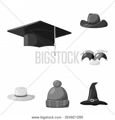 Artist jobs and professions avatar in black and white. Artist profession  worker avatar vector illustration graphic design.