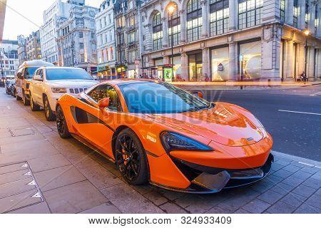 Mclaren Race Car In London