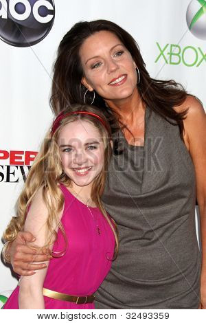 LOS ANGELES - APR 29:  Darcy Rose Byrnes, Andrea Parker arrives at the