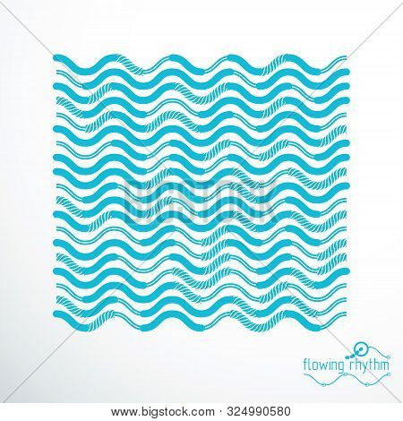 Abstract Lines Background, Engineering Technology Vector Art Graphic Illustration.