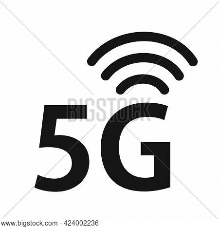 Abstract Illustration With 5g Network. Innovation Technology. Wireless Mobile Telecommunication Serv