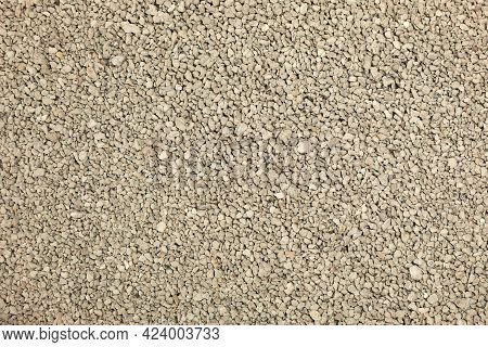 Clean Clay Cat Litter As Background, Closeup