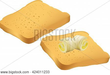 Breakfast With Rusks And A Comma Of Butter