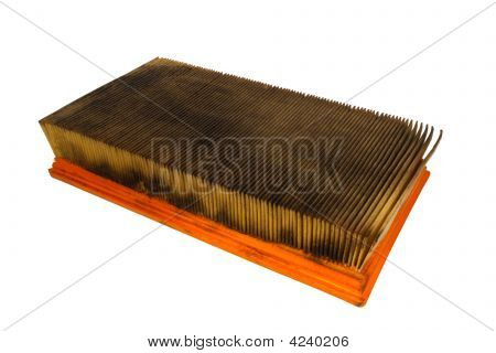 Dirty Automobile Air Filter