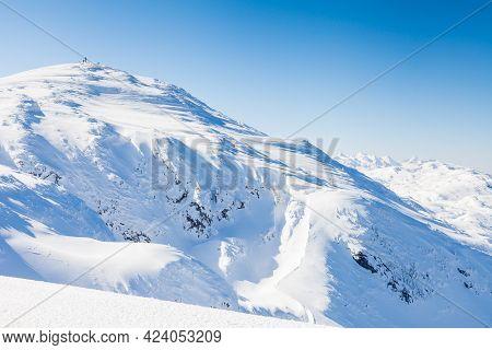 Untersberg Summit.  Looking Towards The Summit Of Untersberg Mountain In Austria.  The Summit Is Mar