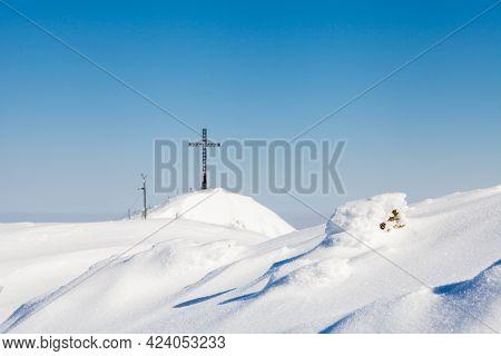 Untersberg Summit.  The View Towards The Summit Of Untersberg Mountain In Austria.  The Mountain Str