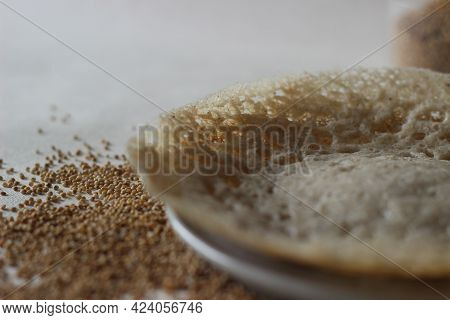 Fermented Kodo Millet Hoppers Prepared With A Batter Of Kodo Millet, Flattened Rice And Coconut Ferm