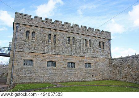 Buildings And Walls Of Jedburgh Jail, Scotland