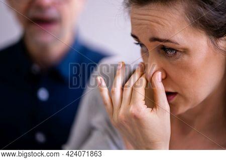 Male Person Bad Breath Breath And Smell