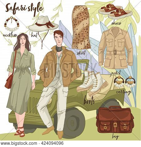 Safari Style, Fashion And Trends, Wilderness Style
