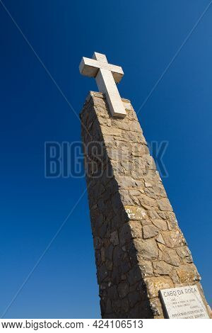 Cabo Da Roca, The Western Point Of Europe In Portugal