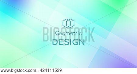 Abstract Geometric Shape Digital Hi Tech Background