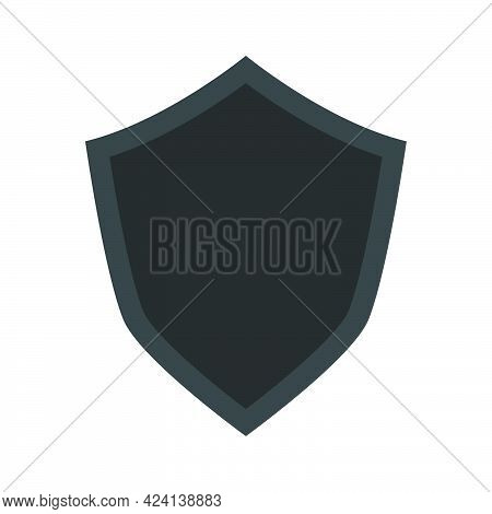 Shield Vector Icon Symbol Illustration Design. Security Sign Shield Protection Badge Icon. Defence G