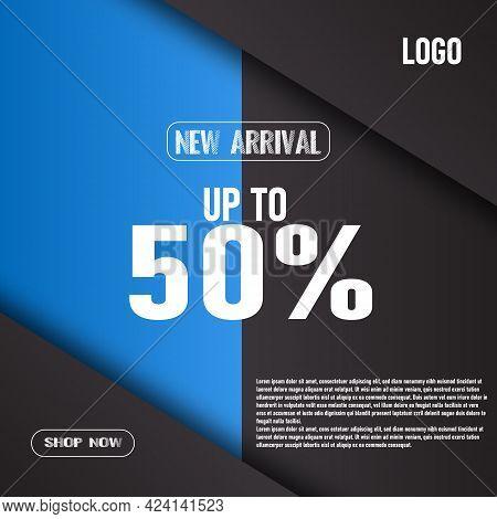 New Arrival Social Media Post Template Design
