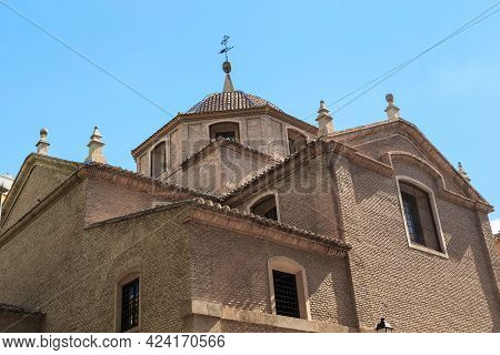 Murcia, Spain - May 19, 2017: This Is A Fragment Of The Medieval Church Of The Convent Of Santa Anna