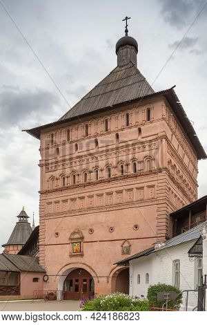 Passage Tower Of Monastery Of Saint Euthymius In Suzdal, Russia