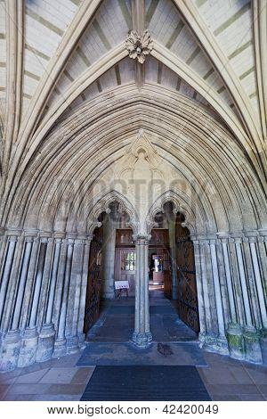 Christchurch Priory Entrance