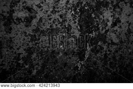 The Texture Of The Old Rusty Metal. Rust Spots And Streaks On The Surface Of Light Metal. Metal Rust