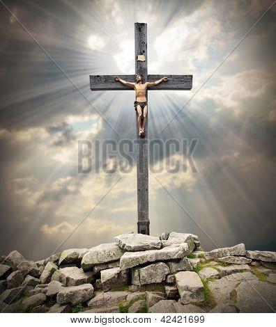 Jesus Christ on The Cross.