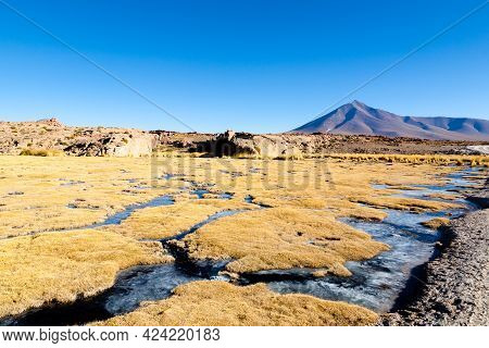 Beautiful Bolivian Landscape,bolivia