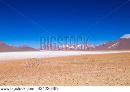 Bolivian Mountains Landscape, Bolivia. Andean Plateau View